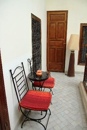 Riad 34: outside the room