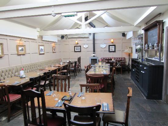 The Brittania: Dinning Area