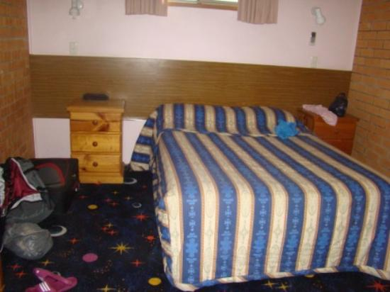 Newcastle Links Motel: Room: double bed