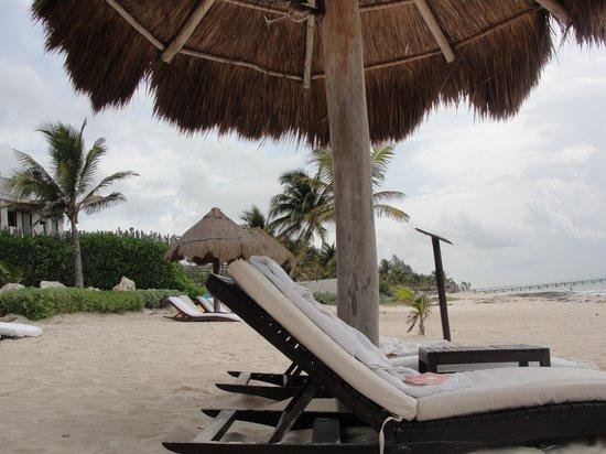 Le Reve Hotel & Spa : the beach