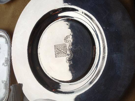 Tour d'Argent : Nice silverware