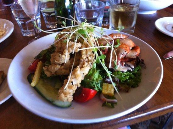 The Strand Cafe Restaurant : Mediteranean Squicken