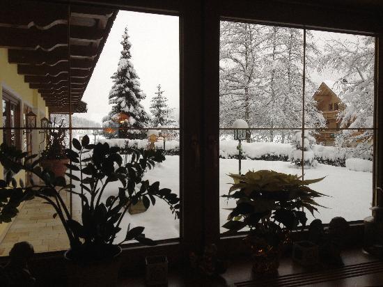 Alpenhotel Kitzbuehel: dalla finestra