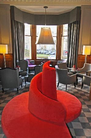 The Bonham Hotel: Quirky Furniture In The Reception
