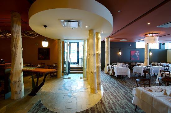 Hôtel-Musée Premières Nations: Restaurant La Traite