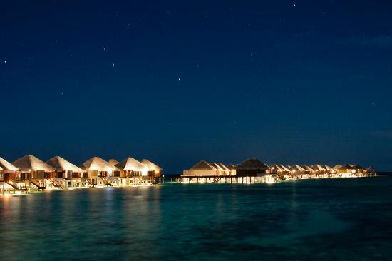 Adaaran Prestige Vadoo: Lagoon Night View with Stars