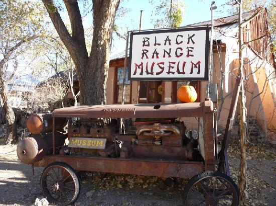 Hillsboro, Nuevo Mexico: The Black Range Museum - open weekends and by appointment