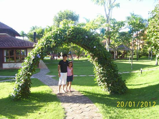 Jardins muito bem cuidados foto de hotel pousada aguas for O jardins d eglantine