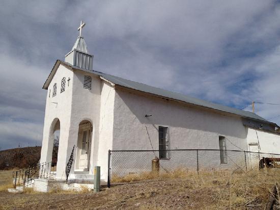 The church in Cuchillo