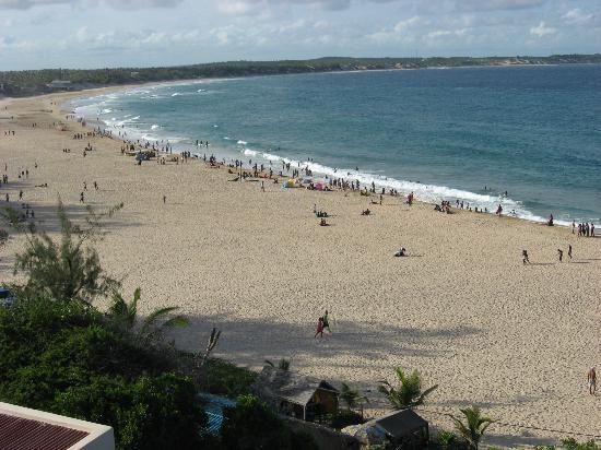Casa do Mar: view of beach from balcony