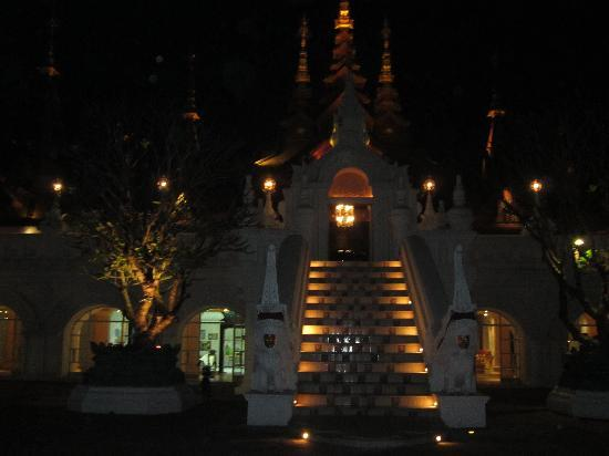 The Dhara Dhevi Chiang Mai: Entrance to Main Lobby