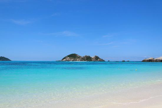 Aharen Beach: ビーチ