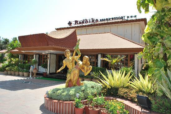 Radhika Beach Resort: RECEPTION AREA