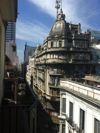 Gran Hotel Espana: Vista desde el balcón de la habitación