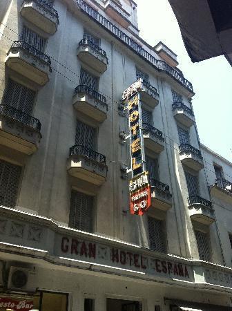 Gran Hotel Espana: Frente del hotel