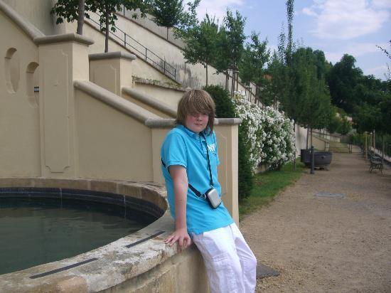 Furstenberg Garden: the water feature
