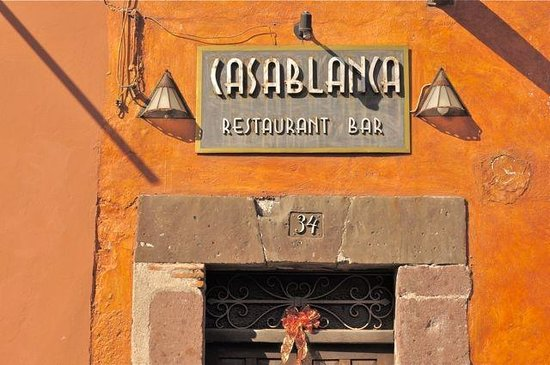 Casablanca Restaurant and Bar : Calle Hidalgo 34, Centro Historico