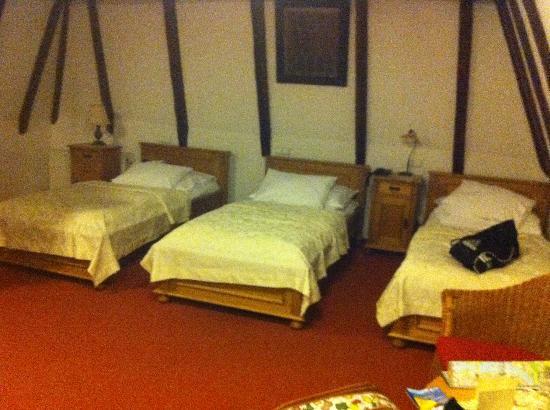 Cerny Slon: Habitación triple