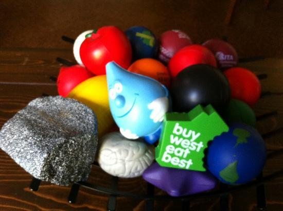 Fern Cove B&B: Russell's Stress Ball collection