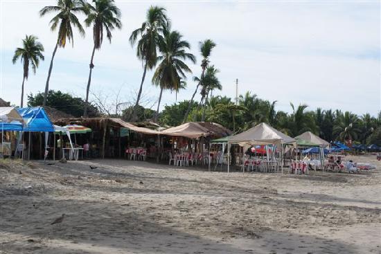 Playa Linda: Refreshments available