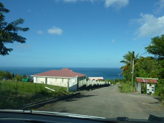 Chalets Sous-le-Vent: Blick auf das Meer