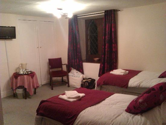 The Hostelrie at Goodrich: Spacious Twin room