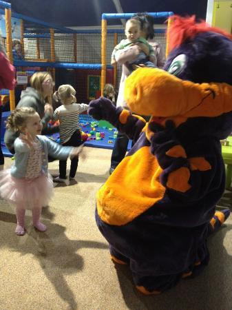 The Fun Factory Bowness: Sophie meets Dino