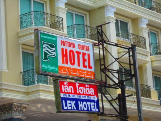 Lek hotel updated 2017 reviews price comparison for Lek hotel pattaya