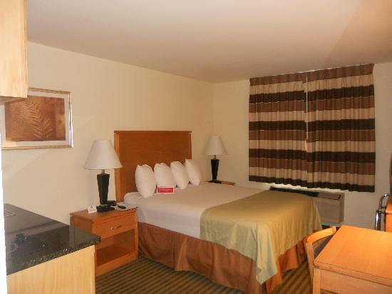Quality Inn DFW-Airport: Nice, Comfortable Bed & Room