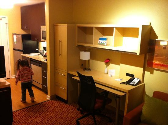 TownePlace Suites by Marriott Huntington: desk