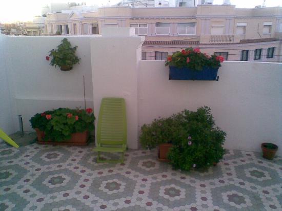 B&B Hi Valencia Canovas: Rooftop-Terrace