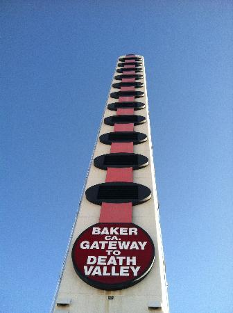World's Tallest Thermometer is still standing!