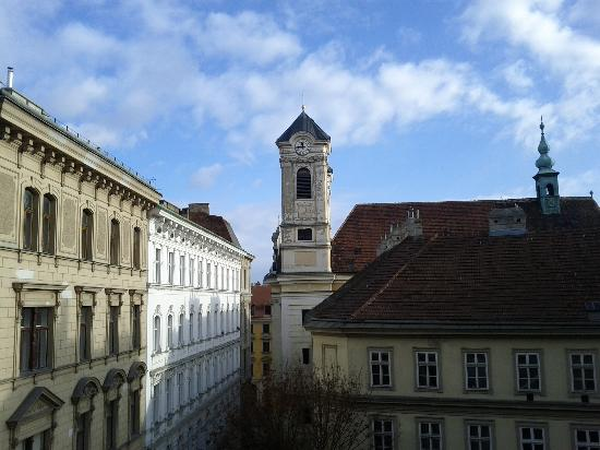 Hotel Altstadt Vienna: Room with a view