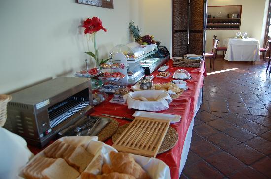 Hotel La Fuente del Sol: Desayuno buffet