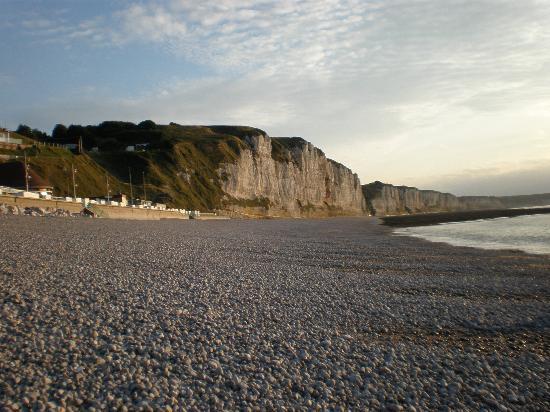 Hotel de la Mer : Spiaggia di fecamp
