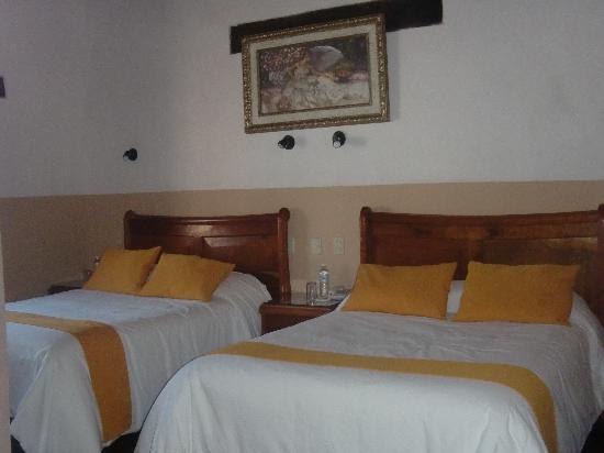 Hotel Casa de Guadalupe: Our room