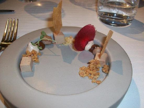 De Herborist: entrée de foie gras
