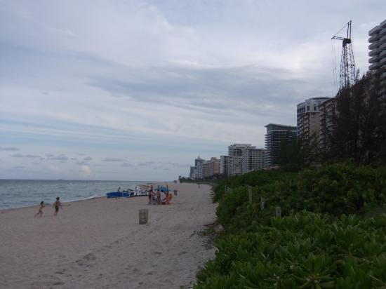 The New Casablanca on the Ocean Hotel: playa muy bonita y limpia, muy limpia