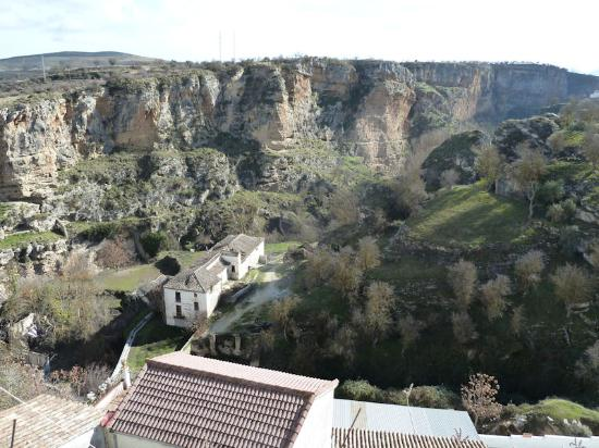 Hotel La Seguiriya : The view over the gorge from our room