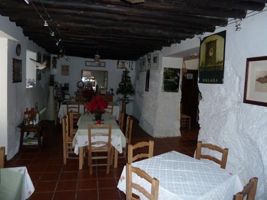 Hotel La Seguiriya : The dining room