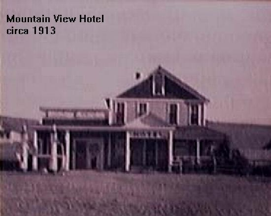 Mountain View Historic Hotel: History