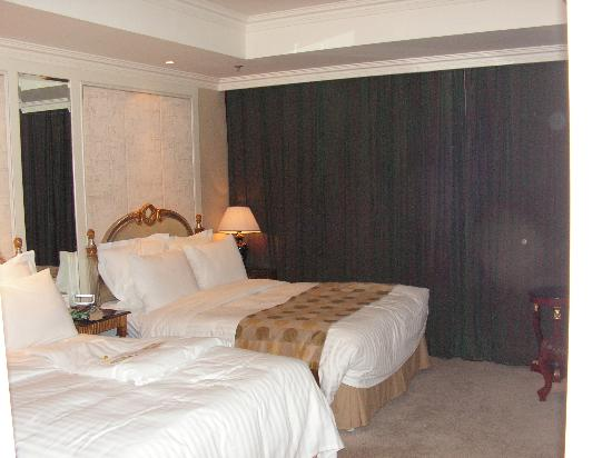 Jinyu Hotel: The comfortable beds