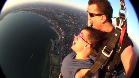 Skydive Melbourne: Oh, that air - big breath
