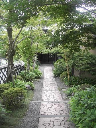 Gokuraku Onsen Takumi no Yado: The main entrance