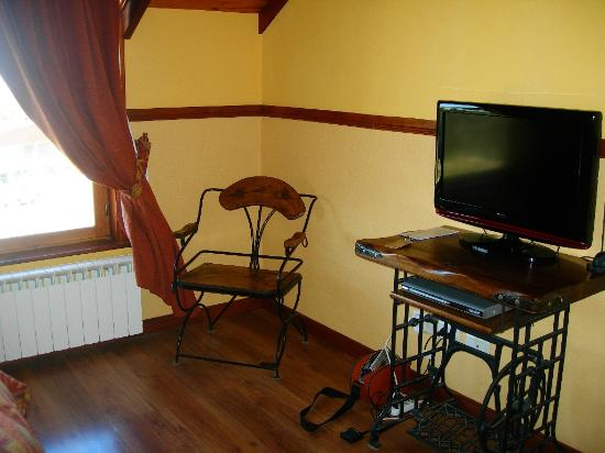 Tierra de Leyendas Boutique Hotel: inside the bedroom