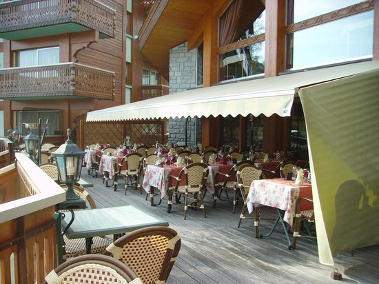 Hotel Le Labrador : La terrasse
