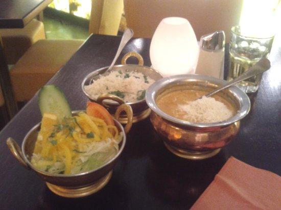 Amrit Restaurant : Die Speise