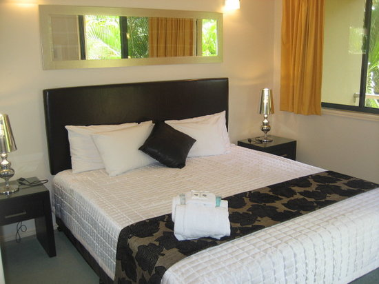 Grange Resort Hervey Bay: Large King Size Beds