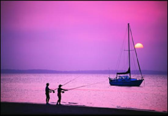 Grange Resort Hervey Bay: Sunsets