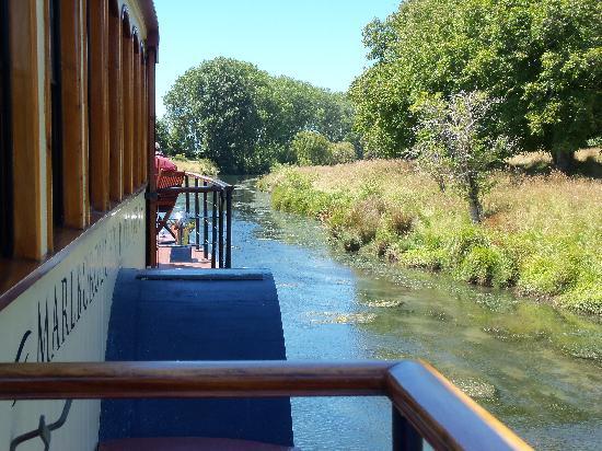 Marlborough's River Queen : The view